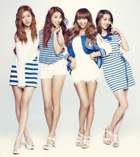 SISTAR Loving U 2012 Summer Special Album Korean K Pop CD SEALED 64P