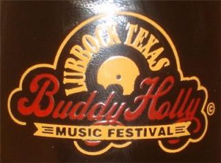 LUBBOCK TEXAS BUDDY HOLLY MUSIC FESTIVAL COCA COLA BOTTLE