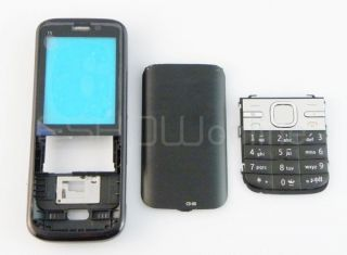 New Black Full Housing Cover Keypad for Nokia C5 C5 00