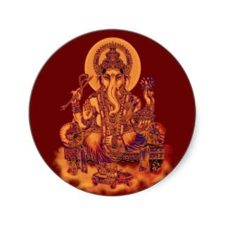 Ganesh   Remover of Obstacles Stickers