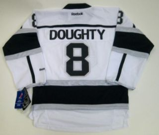 Los Angeles Kings Drew Doughty Youth Stitched Premier White Jersey