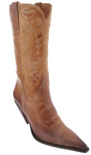 Lucchese I4565 Western Fashion Boots Womens Yellow