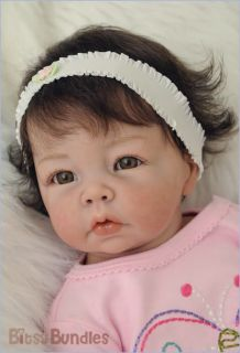 Bitsy Bundles Custom Reborn Baby Luca Girl or Boy Doll by Elly Knoops