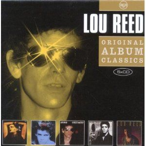Lou Reed Original Album Classics Vol 3 5CD Set