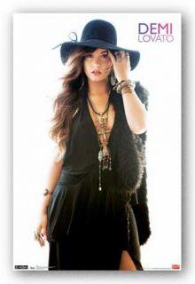Pop Music Poster Demi Lovato