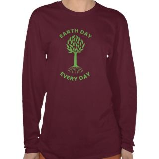 Earth Day Every Day Tee Shirts
