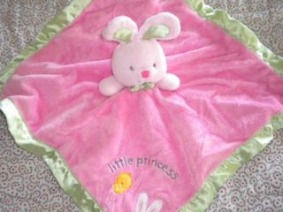 Carters Little Princess Security Blanket Rattle Lovie