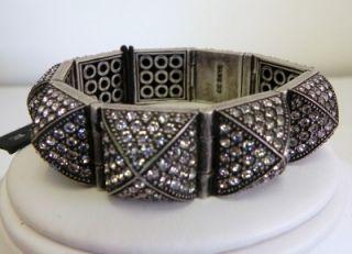 275 CC Skye Pave Pyramid Stud Crystal Bracelet