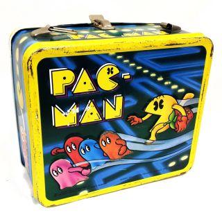 Pac Man Metal Lunch Box