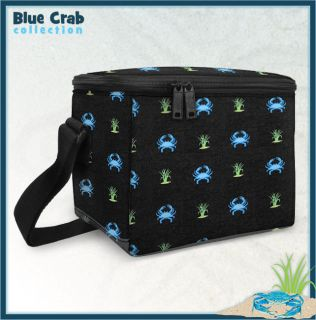 Blue Crab Insulated Lunch Box Cooler Bag Lunchbox Sale