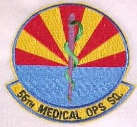 56th Medical Operations Squadron Luke AFB Arizona Medical Dress