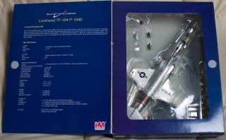 Hobby Master HA1050 F 104G Starfighter 1 72 Die Cast Model