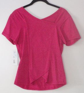 Luna Luz Cross Over Fitted Top Shirt Style 100 Many Colors Hip Boho