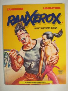 Ranxerox 2 Happy Birthday Lubna Catalan SC Graphic Novel Liberatore