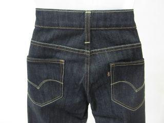 Levi Strauss Womens Dark Denim Jeans Pants Sz 6 28