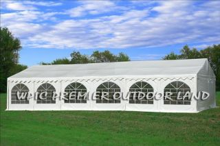 PVC Party Tent Wedding Canopy   Two sizes available   32x20 40x20