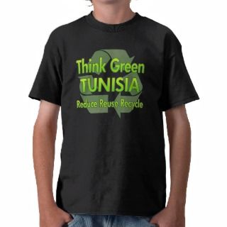 Think Green Tunisia Tee Shirts