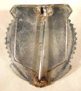 Vintage Lynn Massachusetts Police Badge Patch Whistle
