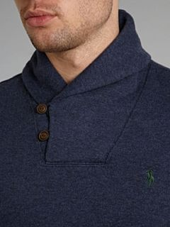 Polo Ralph Lauren Shawl collar sweater Navy