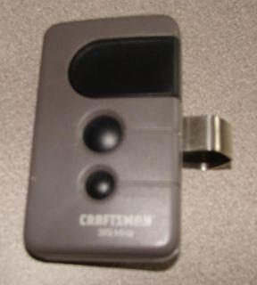 Craftsman Garage Door Opener Remote Control 3 Black Button 53753