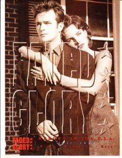 Glory Fashion Magazine Print Advertisement Luke Perry 90210