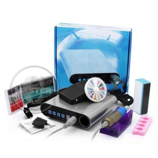 000RPM Nail Art Manicure Bands Polish Electic Drill Tools Gifts