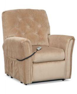 Havana Fabric Power Recliner Chair, 38W x 41D x 40H   furniture