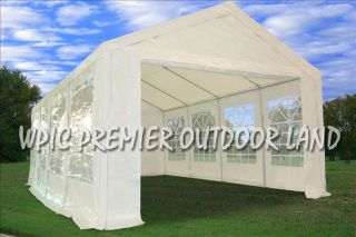 26 x 13PE Party Tent Canopy Two Colors Available White