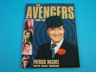 Avengers Patrick Macnee Dave Rogers TV Television Book