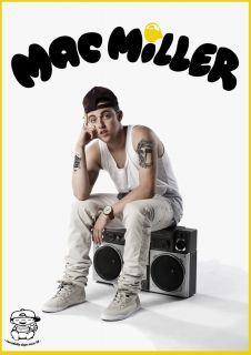 Mac Miller Incredibly Dope A1 Poster Rostrum Most Dope Macadelic Blue