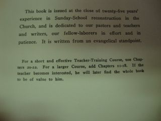 How to Teach in Sunday School 1947 Lutheran Christian
