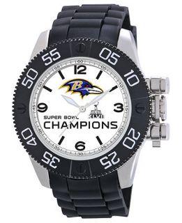 Game Time Watch, Mens Baltimore Ravens Championship Black