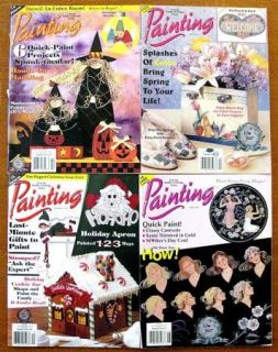 Lot of 4 Painting Magazines 1995 from Craft N Things