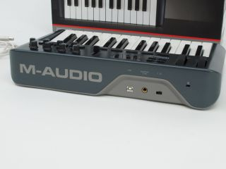Audio Oxygen 25 USB MIDI Interface Keyboard