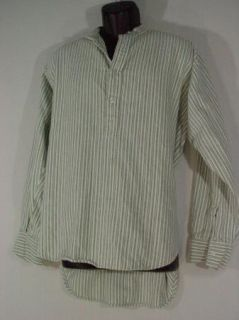 Magee Mens Shirt Flannel Reenactment Civil War Ireland Half Button