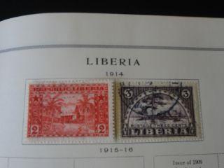 Scott International Album Stamp Collection J M