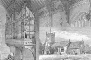 Norfolk Church of St Mary Magdalene Sandringham 1880