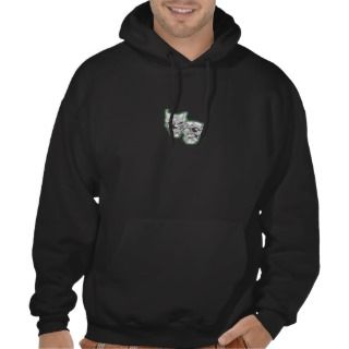 smile now, cry later hooded sweatshirt