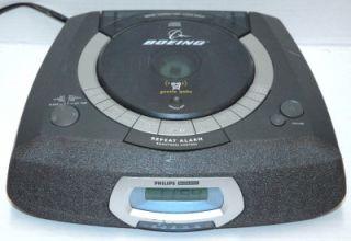 Philips Magnavox AJ3935 Dual Alarm CD Clock Radio