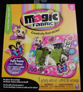 New Magic Fabric Activity Refill Craft Kit Funky Frame