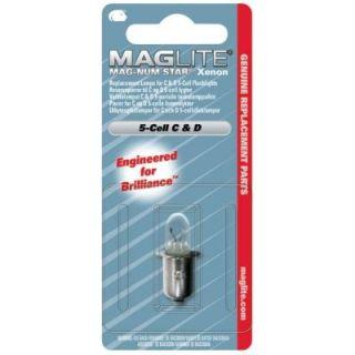 Maglite LMSA501 Mag Num Star 5D Xenon Replacement Bulb