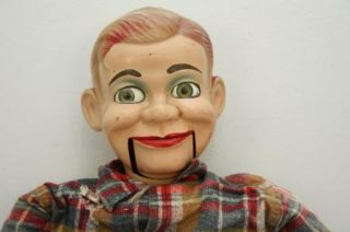 Ventriloquist Doll Dummy Puppet Jerry Mahoney Paul Winchells