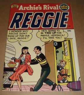 Archies Rival Reggie #1 (1949) NICE 1st Issue comic book (id# 6949)