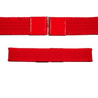 Elastic Zipper Red Hot Plus Size Belt One Size Fits All