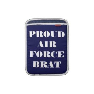 Ipad Sleeve Proud Air Force Brat