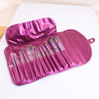 13 Pcs Pro Cosmetic Brush Makeup Tools Set +Cosmetic Case GOOD Quality