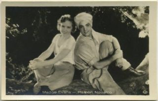 Madge Evans Ramon Novarro 1930s Batschari Series 5 German Tobacco Card