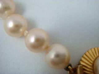 MAJORICA White Simulated Pearl Bracelet Vintage