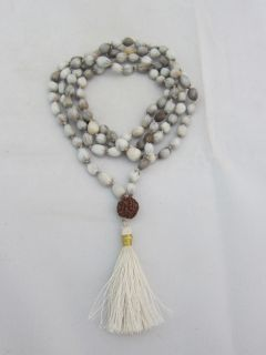 This mala is known as the mala of victory and is used to call upon