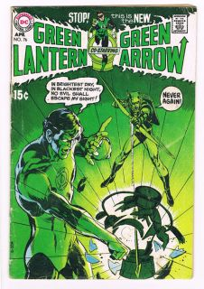 Green Lantern 76 First Neal Adams Super Scarce Hot